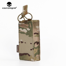 emersongear Emerson Radio Pouch Holster Precision Hunting Tactical Single Mag Case FOR SS Vest Plate Carrier Airsoft Military emersongear emerson double mag pouch for ss vest 556 762 magazine plate pouch airsoft hunting mag holder pouch multicam