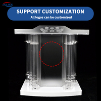 Podium Gift Display Stands Other Commercial Furniture With Arcylic Angled Reading Surface Aklike Rednerpult Pulpit Church Modern