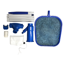 Aquarium Pool Cleaning Set Swimming Pool Cleaning Tools Maintenance Above Ground Skimmer Brush Vacuum Hose grand piano maintenance cleaning set of 4 pieces