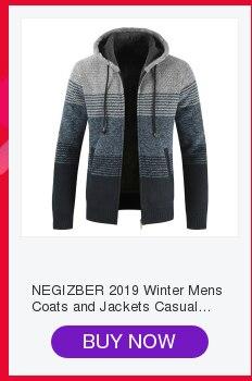 H51964e15b301477eb7327e09964b5d15u NEGIZBER 2019 Autumn Winter New Men's Jacket Slim Fit Stand Collar Zipper Jacket Men Solid Cotton Thick Warm Jacket Men
