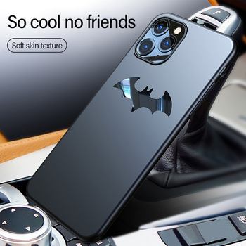 Ultra-thin Metal Batman Matte PC Phone Case For iPhone 11 Pro Max SE XSmax XR XS X 8 7 6s 6 Plus Magnetic Protection Cover Coque 1