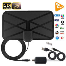 smart 520 miles Digital HDTV Antenna Internet with Amplifier Signal Booster DVB-T2 HD Clear Satellite receiver Dish TV Aerial(China)