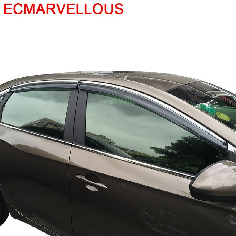 Rain Mouldings Accessories Upgraded Protector Car Windows Visor FOR Buick Encore Envision Excelle GL8 LaCrosse Regal Vernao