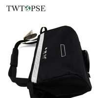 TWTOPSE Great Capacity Bicycle Bike Bag Pannier For Brompton Cycling 16L Water Resistant Basket Bag Reflective Accessory Parts
