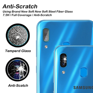 Image 3 - Full Cover Whole Glue Tempered Glass For Oppo A15 Screen Protector For Oppo A15 Camera Glass For Oppo A15 A 15 Glass 6.52 inch