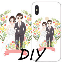 Customized Silicon Phone cases for Redmi note 7 6 5 4 3 cover Redmi K20 S2 7A 5 plus 6A 6 pro 4A 4X 5A 3S Custom DIY TPU cover(China)