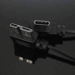 Image 3 - USB 3.0 إلى نوع C كاميرا كابل تحكم ل ZHIYUN رافعة 3 مختبر و كانون EOS R RP نيكون Z6 Z7 GH5 BMPCC 4K Z CAM E2 USB C إلى TypeC