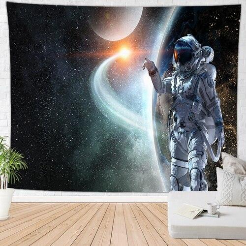 Луна пещера гобелен пространство ковер на стену хиппи гобелен большой tapijt muur домашний декор - Цвет: 1811