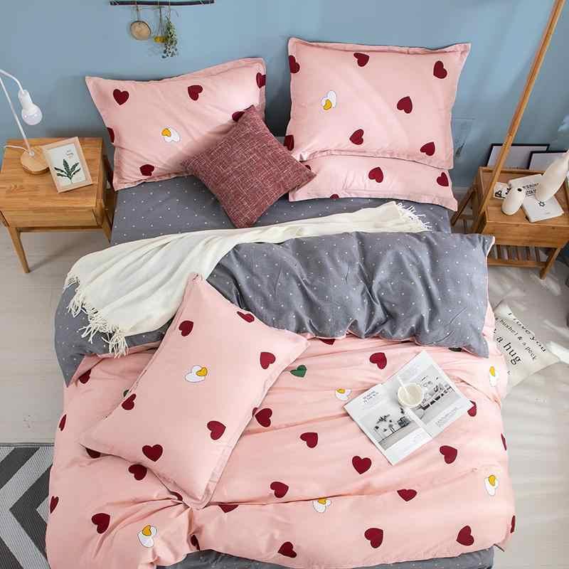Lüks saf pamuk yatak seti 3/4 adet yatak örtüsü nevresim takımı 1.2/1.5/1.8/2.0m boyutu yorgan yorgan kapak setleri çarşaf pamuk yatak örtüsü