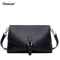 ZOOLER Genuine Leather Crossbody Bag Women Shoulder Bag Brand Designer Women Bags Luxury Cow Leather Bag Winter Handbag#LD200