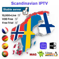 IPTV Francia Bélgica España Portugal árabe Alemania suscripción Android M3u Smart tv Suecia Noruega Denmark Finland IP TV pk QHDTV