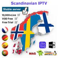 IPTV Frankreich Belgien Spanien Portugal Arabisch Deutschland Abonnement Android M3u Smart tv Schweden Norwegen Dänemark Finnland IP TV pk QHDTV