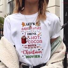 Милый задний фон с веселой рождественской елкой печатных футболка