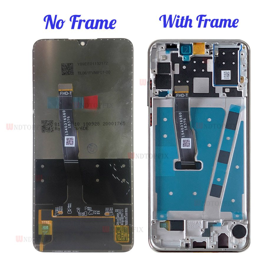 Image 2 - 100% Tested LCD For HUAWEI P30 Lite LCD Display Touch Screen with  Frame For Huawei P30 Lite Nova 4E LCD Display MAR LX1M LX2Mobile Phone  LCD Screens