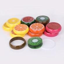 6 шт Желейная грязь новая фруктовая игрушка Магнитная Полимерная