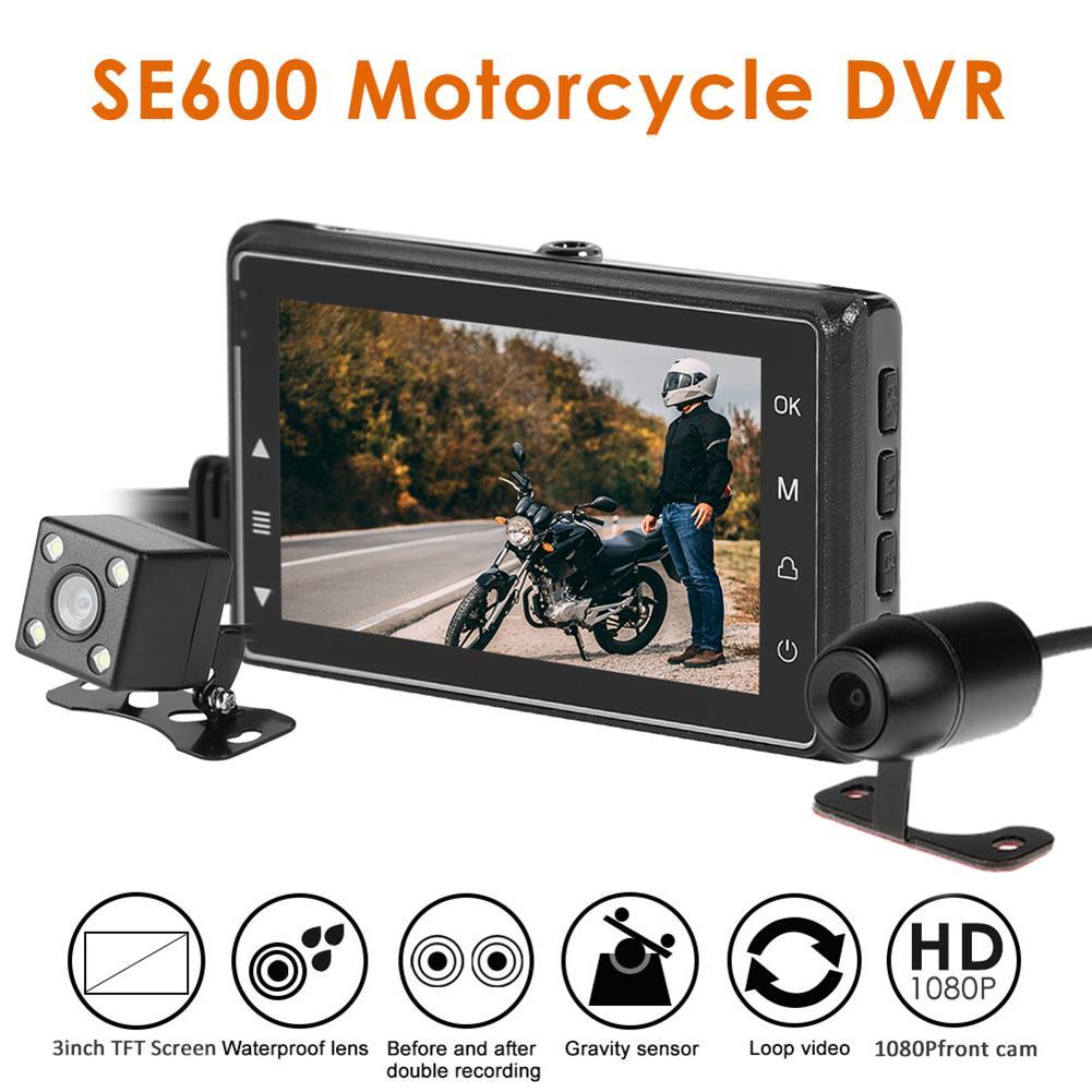 SE600 Видеорегистраторы для мотоциклов Dashcam 3,0