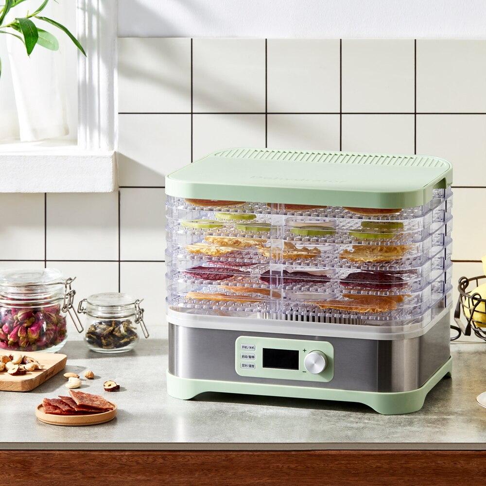 Food Dehydrator Food Dryer Dried Fruit Machine Home Meat Vegetables Fruit 5th Floor Air Drying Dehydrator