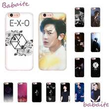 Babaite EXO Custom Photo Soft Phone Case For iPhone 8 7 6 6S Plus X XS MAX 5 5S SE XR 11 11pro promax Cellphones(China)