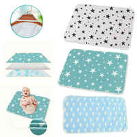 Reusable Baby Changing Mats Cover Baby Diaper Mattress Diaper for Newborn Cotten Waterproof Changing Pats Flool Play Mat