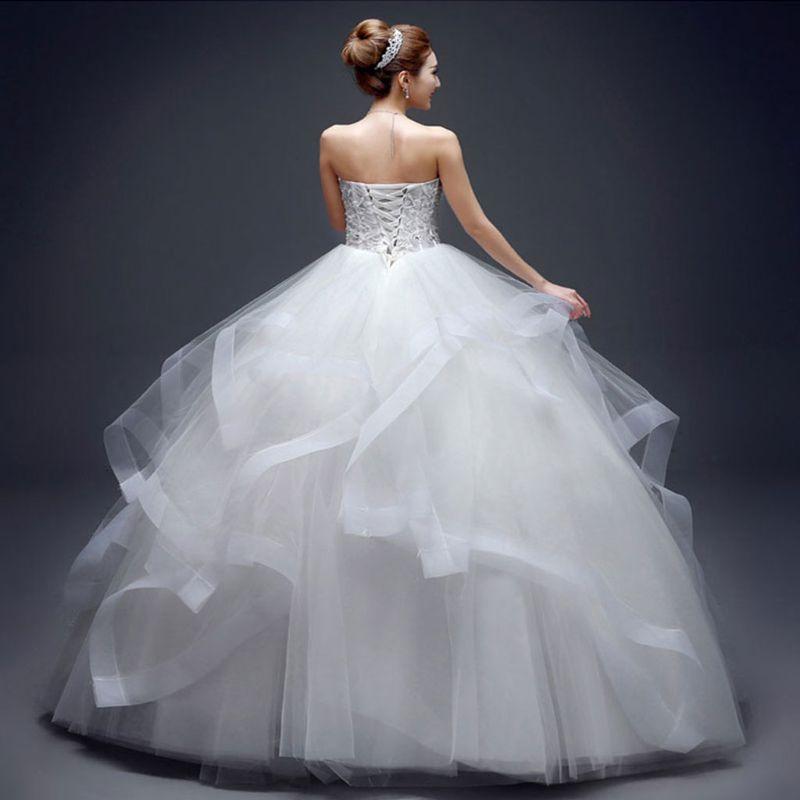 6 Hoops No Yarn Large Skirt Bride Bridal Wedding Dress Support Petticoat Women Costume Skirts Lining