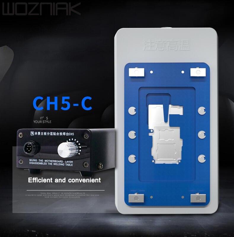 MIJING CH5 CH5-B CH5-C INTELLIGENT MAINBOARD LAYERED WELDING PLATFORM FOR IPHONE X XS XSMAX 11 11PRO 11PROMAX