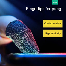10Pcs Fingertips for pubg mobile accessories 24pin High Quality Finger Sleeve fingertips for games Breathable Anti sweat