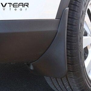 Vtear For Suzuki Grand Vitara Mudguards fender flares mud flaps cover Exterior car-styling decoration parts Accessories 16-19