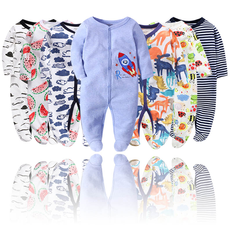 Baby Clothes Boy Romper Baby Winter Clothes New Born Long Sleeve Kids Boys Jumpsuit Baby Girl Clothes Infant Costume