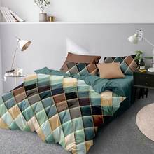 Lovinsunshine super macio capa de edredão única dupla rainha rei roupa cama dupla duvet cover conjunto bonito ee99 #
