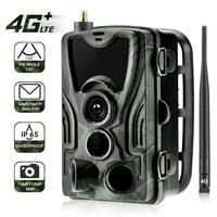 Suntekcam 4G Jagd Trail Kamera FTP SMTP MMS 20MP 1080P HC801LTE Drahtlose Cellular Wildlife Kameras 0,3 s Jagd cam IP65