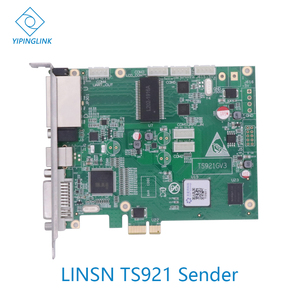 LINSN новая отправка карт TS921 поддержка RCG чтение обратно Поддержка всех приемных карт для всех видов светодиодного экрана