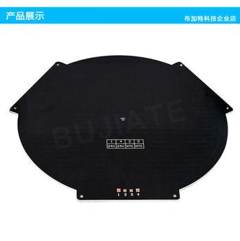 Круглый MK3 Reprap алюминиевая Тепловая кровать 3d принтер Delta росток Тепловая кровать горячая пластина