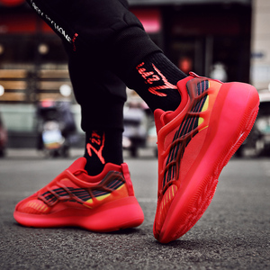 Image 5 - ชายน้ำหนักเบารองเท้าวิ่งรองเท้ากันกระแทกBreathableชายรองเท้าสบายๆเพิ่มขึ้นเดินรองเท้าZapatillas mujer