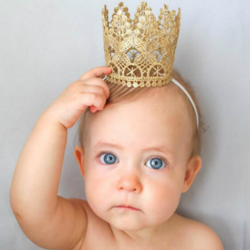 Cute Baby Knitted Crown Headbands For Baby Girls Boys Photo Shoot For Newborn Photography Props Cap Hair Accessories Kids Unisex