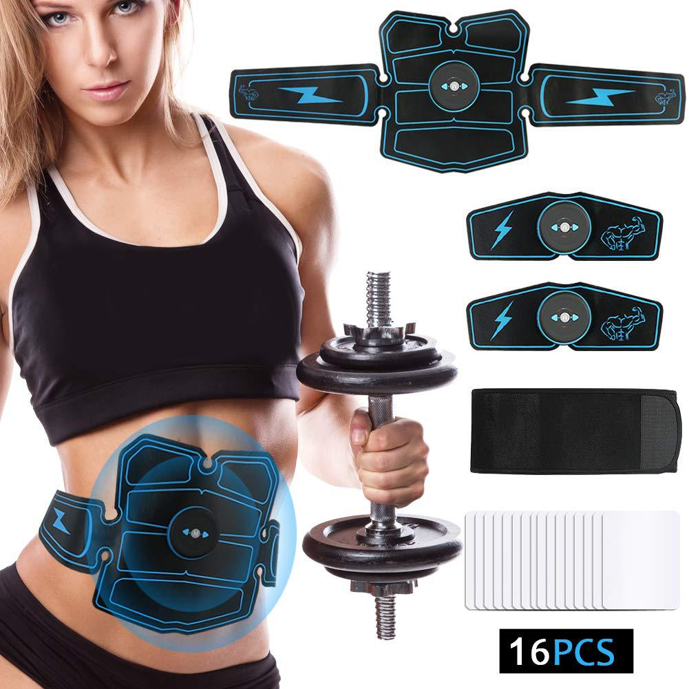 EMS Electric Press Simulator Massager ABS Abdominal Muscle Trainer Sports Gym Home Exercise Fitness Equipment Training Apparatus
