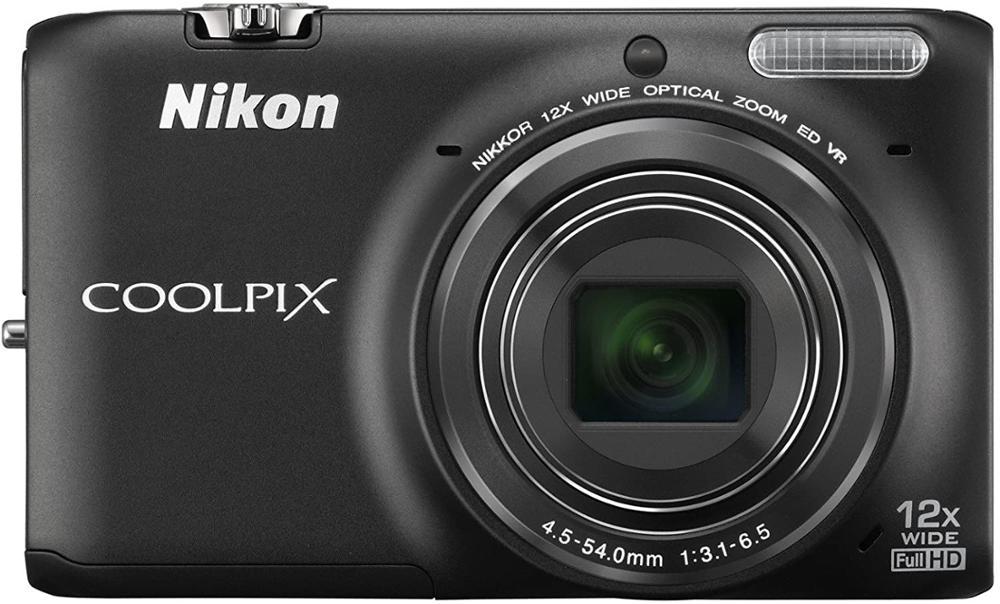 USED Nikon COOLPIX S6500 Wi-Fi Digital Camera with 12x Zoom