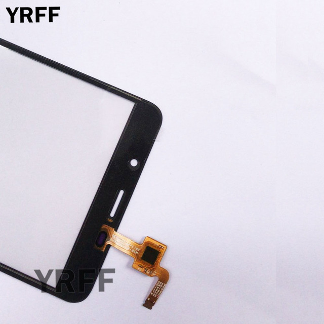 Touch Screen Panel For Leagoo M8 / M8 Pro Touch Screen Sensor Glass Digitizer Front Panel 5.7'' 3M Glue Wipes 5