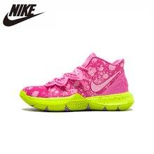 цена на Nike Kyrie Erwin 5 Men New Arrival Basketball Shoes Original Air CushionComfortable Outdoor Sports Sneakers # CJ6951-600