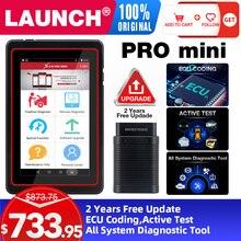 2021LAUNCH X431 Pro Mini V3.0 كامل نظام سيارة أداة تشخيص OBD OBD2 بلوتوث واي فاي رمز القارئ الماسح الضوئي X 431 الايجابيات المصغرة X431 فولت