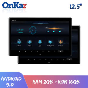 ONKAR Headrest-Monitor Android HDMI SD Wifi MP5 1080P FM USB 4K Video-Support 16GB Miracast