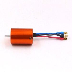 Image 2 - Fatjay Borstelloze Inrunner 4 Pole Sensorless Motor 2838 2800KV 3800KV Voor Rc Auto Boten 380 390 Upgrade Motor