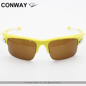Image 2 - Conway Retroสแควร์แว่นตากีฬาแว่นตากันแดดPCยี่ห้อออกแบบกลางแจ้งแว่นตาAnti Glareยุทธวิธีหน้ากาก9102