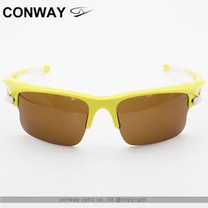 Image 2 - كونواي ريترو ساحة نظارات رياضية النظارات الشمسية PC مرآة العلامة التجارية تصميم نظارات في الهواء الطلق مكافحة وهج التكتيكية قناع عين 9102
