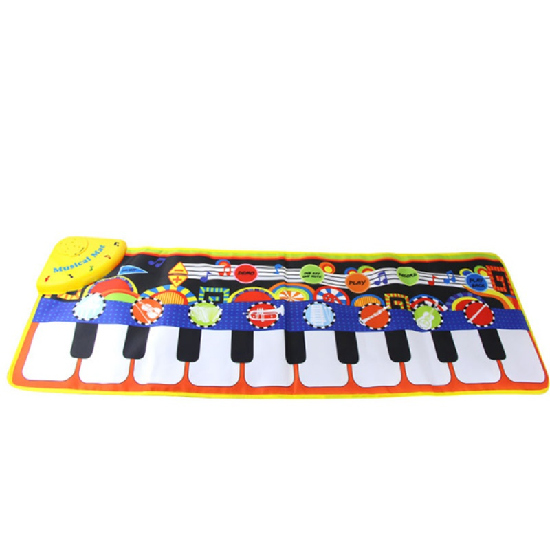 Interesting Baby Early Education Jazz Drum Music Carpet Kids Musical Crawl Mat Chidren\'s Learning Toys