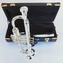 Stradivarius Топ труба LT190S-85 музыкальный инструмент Bb Труба позолоченная Профессиональная музыка