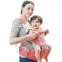 AIEBAO Ergonomic Baby Carrier Infant Kid Baby Hipseat Sling Front Facing Kangaroo Baby Wrap Carrier for Baby Travel 0-36 Months disney ergonomic baby carrier infant kid baby hipseat sling front facing kangaroo baby wrap carrier for baby travel 0 36 months