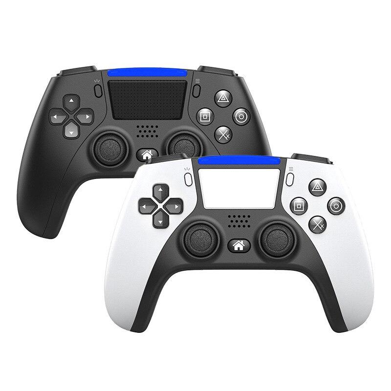 Bluetooth Беспроводной игровой пульт дистанционного управления для PS4 6-осевой программируемый двойной вибрации геймпад ноутбук многоцветный и...