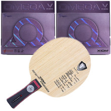 Table-Tennis-Blade XIOM Viscaria Omega-V Rubber Original EURO DF Sports Like Indoor