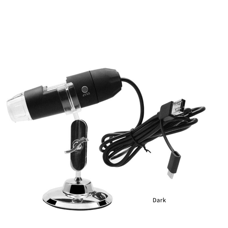 1000X8 LED portátil Digital USB Microscopio Lupa Electrónica estéreo Cámara endoscopio USB con soporte