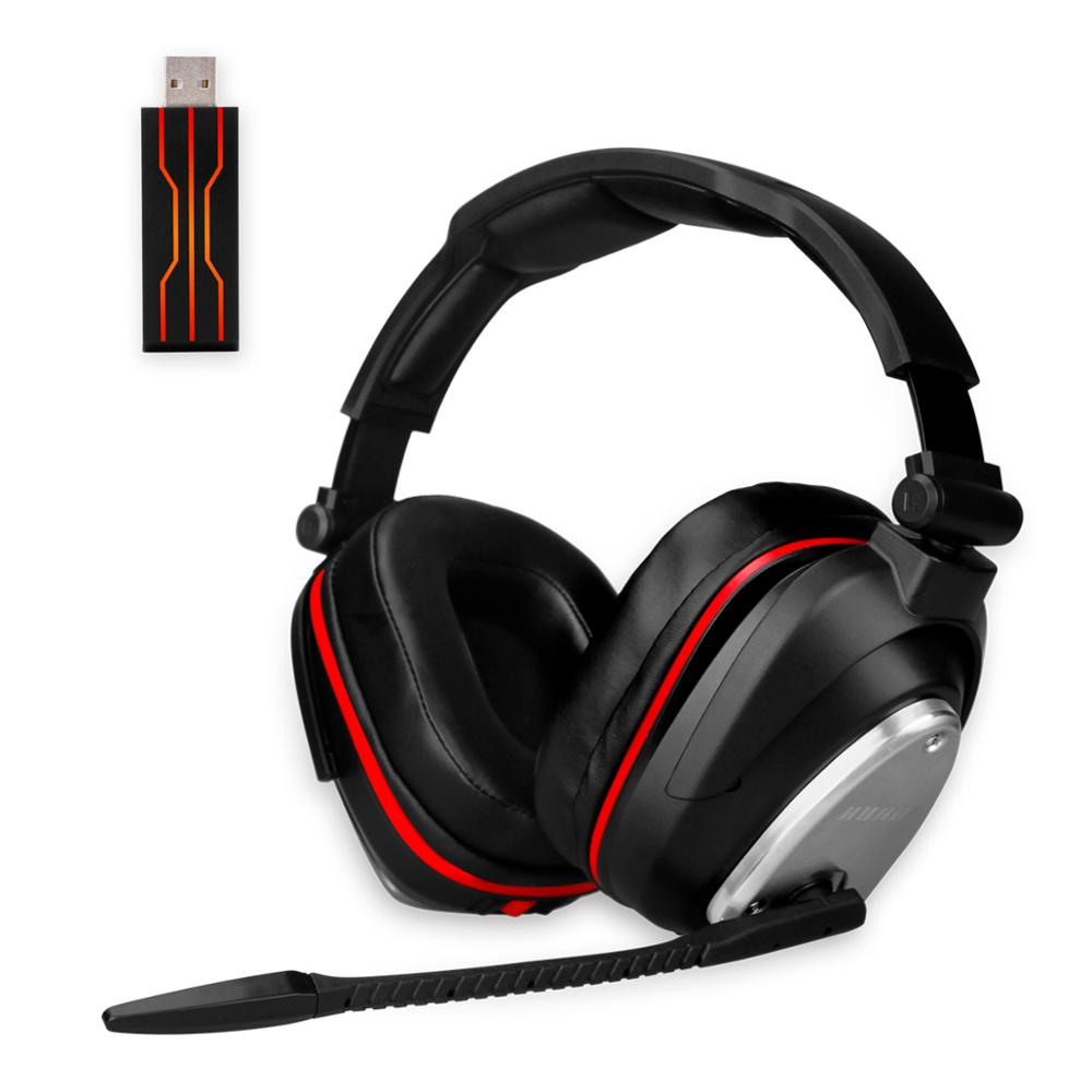 <font><b>USB</b></font> <font><b>Wireless</b></font> Gaming Headset Big <font><b>Headphones</b></font> with Light Mic Stereo Earphones Deep Bass <font><b>for</b></font> PC <font><b>Computer</b></font> Gamer Laptop PS4 New X-BOX image